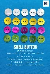 Natural Shell Buttons, Size/Dimension: 8mm To 25mm