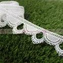 New Design Garland Shape GPO Polyester Lace