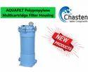Blue Polypropylene Multicartridge Filter Housing