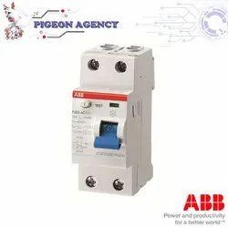 ABB  FB202 AC- 25 A   0.1  2Pole  RCCB