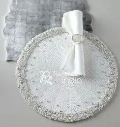 Decorative Beaded Placemats