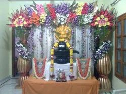 Multicolor Pooja Flower Decoration, 4to8 Colours