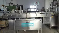 Automatic Flat Bottle Sticker Labelling Machine
