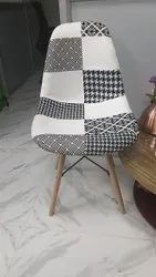 Cushion Lawn Chair With Fabric Combination