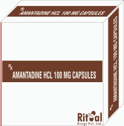 Amantadine Hcl 100 MG Capsules