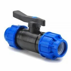 BALL VALVE FOR MDPE PIPES