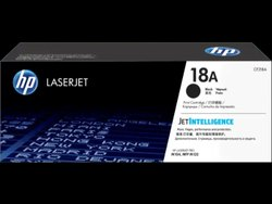 18A HP Laserjet Toner Cartridge