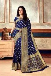 Fancy Banarasi Soft Silk Saree
