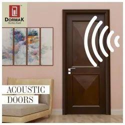 Laminate Or Veneer Hinged DORMAK ACOUSTIC DOORS, For Hospital, Size/Dimension: 1100*2100