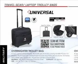 Black Trolley Bags, For Travelling