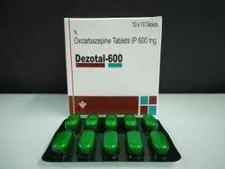 Oxalacarbazepine Tablet ip 600 mg.