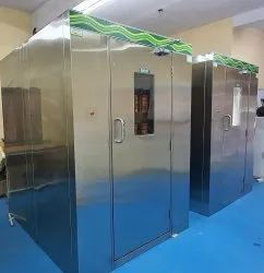 Air Shower Entry System