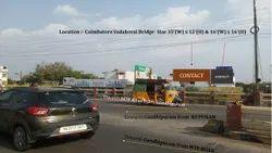 Outdoor Coimbatore City Flyover Hoarding