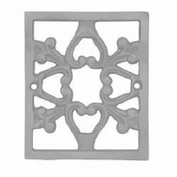 Modern Cast Iron Silver Gate Part