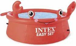 Intex Happy Crab Easy Set Above Ground Pool 6 Feet