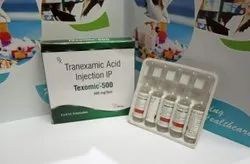 Tranexamic Acid 500 Mg Injection ( Texomic-500), 5ml, Packaging Type: Tray Pack