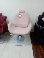 Mc Brown pink Beauty Parlour Chair, For Professional, Without Footrest