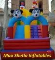 Micky Mouse And Dolduck Shape Bouncy
