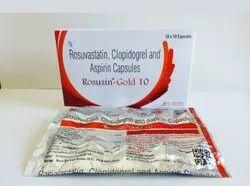 Rosuvastatin10 mg   Clopidogrel 75 mg   Aspirin 75 mg