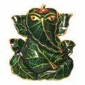 Patta Ganesh Car Dashboard Idol / Showpiece
