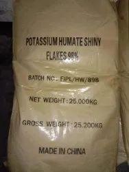 Potassium Humate Shiny Flakes 98%