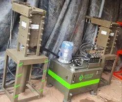 Interlock Block Making Machine Full Setup