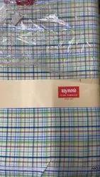 COTTON Formal Raymond Shirting Fabric, Machine wash