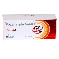 Doxrid Doxycycline 100mg Tablets