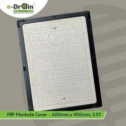600mm X 450mm FRP Rectangular Manhole Cover