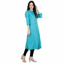 Aadga Blue Designer Kurti