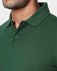 Plain Premium Mercerised Polo Poly Cotton T Shirt, Size: S to XXL