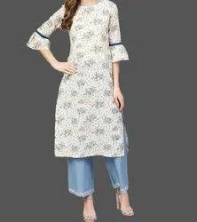 Small Ladies Printed Cotton Kurti