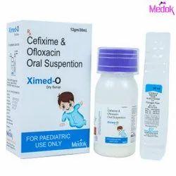 Cefixime and Ofloxacin Oral Suspention