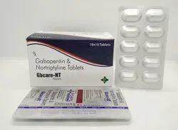Gabapentin 400mg   Nortryptyline 10mg Tablets