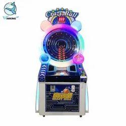 Crazy Ball Wheel Of Fortune Redemption Game Machine