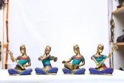 Bronze Stone Work Musician