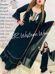Ladies Designer Sharara Heavy Suit