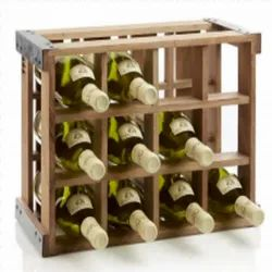 Limitless Hunch Non Edible Wooden Crate For Storage, Size: 13 W X 4.7 H X 9.8 D