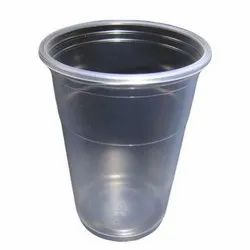 White Plastic Water Glass (100nos), For Office, Packaging Size: 100 ML