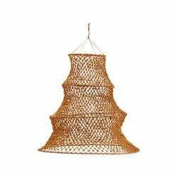 ED LED Macrame Hanging Lamp Shade, For Decoration