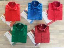 1-10 Years Festive Wear Boys Matching Dhoti Shirt Set