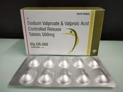 Sodium Valproate and Valproic Acid Controlled Release Tablets