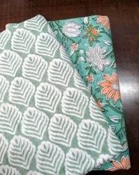 Traditional Hand Block Printed Cotton Fabric