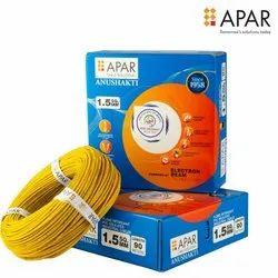 Apar Anushakti Flexible Copper Conductor EBXL FR PVC Insulated House Wire 180m