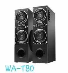 2.0 Black Milton T - 80 Speaker, 28000 W