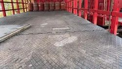 Rubber Mats For Gas Cylinder Lorry