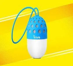 Blue and White TBS-54 Bloom Ultra Portable Speaker
