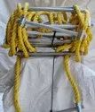 Yellow Safety Rope Ladder, For Construction