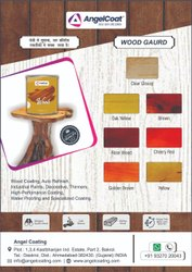 Angel Coat Glossy Wood Guard Finish, For Brush