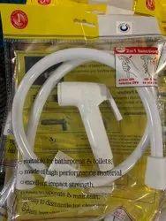 White PVC Toilet Hand Spray
